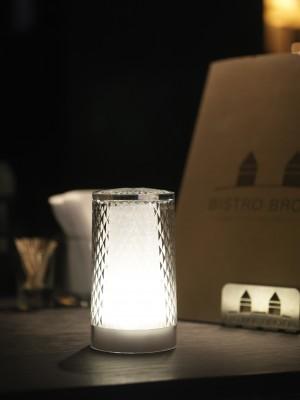Επιτραπέζιο φωτιστικό LED Imagilights DJobie Venetian Glitter