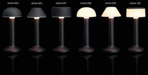 Επιτραπέζιο φωτιστικό RGB LED υψηλής αισθητικής Imagilights Moments Black