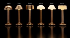 Επιτραπέζιο φωτιστικό RGB LED υψηλής αισθητικής Imagilights Moments Bronze