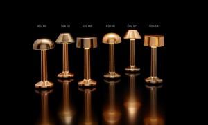 Επιτραπέζιο φωτιστικό RGB LED υψηλής αισθητικής Imagilights Moments Bronze Rose Gold