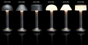 Επιτραπέζιο φωτιστικό RGB LED υψηλής αισθητικής Imagilights Moments Cadet Grey