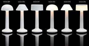 Επιτραπέζιο φωτιστικό RGB LED υψηλής αισθητικής Imagilights Moments White