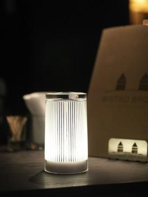 Επιτραπέζιο φωτιστικό LED Imagilights DJobie Plisee Glitter