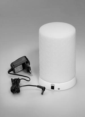 Επιτραπέζιο φωτιστικό LED Imagilights Tebur Shadow - ανάγλυφο κέλυφος