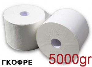 Βιομηχανικό χαρτί Strong Γκοφρέ 5kg συσκευασία 2 ρολών Κωδ.016