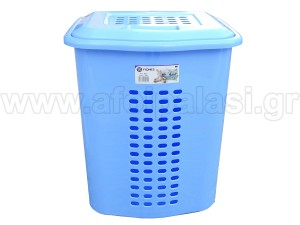 Καλάθι άπλυτων ρούχων 460 μπλε