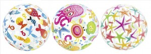 Φουσκωτή μπάλα Intex Lively Print Balls Ø61cm - 59050