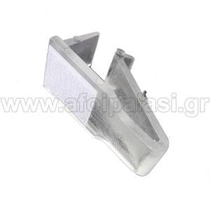 Πλαστικό κλιπ για τραπέζια catering με Velcro για φούστες Μικρό έως 2cm