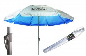 Ομπρέλα παραλίας με σκελετό αλουμινίου Maui and Sons Μπλε - Ø2,2m