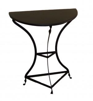 Παραδοσιακό τραπέζι καφενείου μισοφέγγαρο 60cm