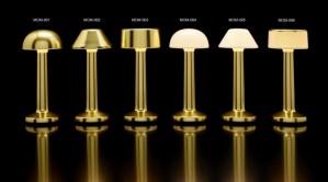 Επιτραπέζιο φωτιστικό RGB LED υψηλής αισθητικής Imagilights Moments Yellow Gold