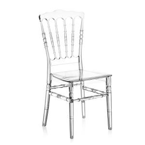 Καρέκλα για δεξιώσεις και γάμους Tilia Napoleon XL PC Διάφανη