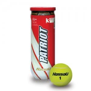 Μπαλάκια τένις κονσέρβα Nassau Patriot 3τεμ