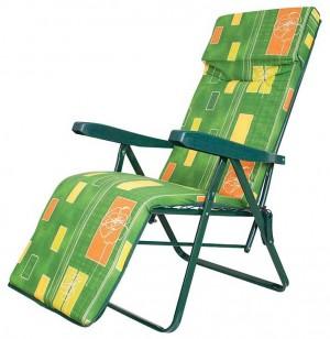 Πτυσσόμενη πολυθρόνα με 6 θέσεις υποπόδιο και προσκέλφαλο Escape 15635