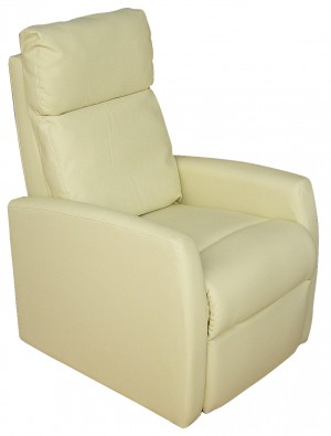 Πολυθρόνα Relax 1400 με τεχνόδερμα - Μπεζ