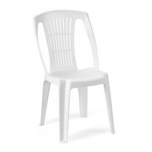 Στοιβαζόμενη πλαστική καρέκλα Progarden Stella Λευκή