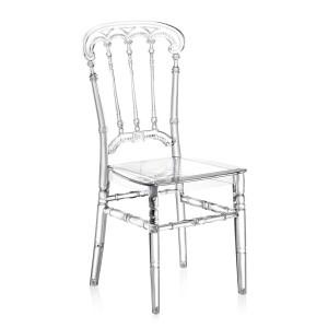 Καρέκλα για δεξιώσεις και γάμους Tilia Roma PC Διάφανη