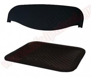 Ανταλλακτικά πλάτη / κάθισμα μαύρο για Sabrina steel