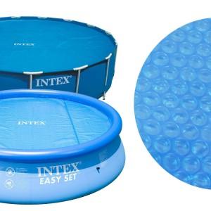 Κάλυμμα θέρμανσης νερού Solar cover Intex Ø244cm - 29020