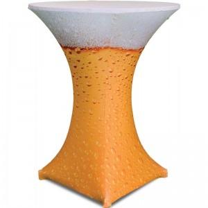 Υφασμάτινο ελαστικό κάλυμμα Stretch Spirit Beer για Cocktail Bar 80