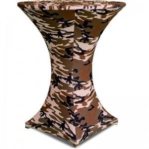 Υφασμάτινο ελαστικό κάλυμμα Stretch Camouflage για Cocktail Bar 80