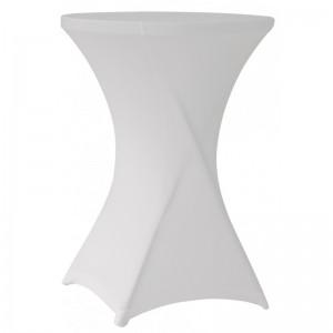 Υφασμάτινο ελαστικό κάλυμμα Stretch για Cocktail Bar 80 White
