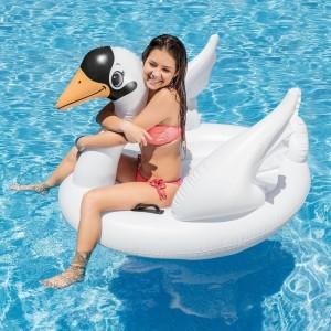 Φουσκωτό παιχνίδι κύκνος Intex Swan Ride-On 57557