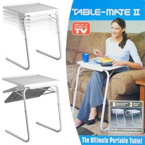 Πτυσσόμενο τραπέζι με ρύθμιση ύψους και κλήσης Table Mate II