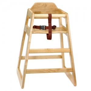 Ξύλινο παιδικό κάθισμα εστιατοριού Tablecraft natural