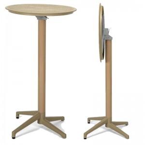 Τραπέζι εξωτερικού χώρου σε ύψος bar Tilia Moon Bar Table Foldable Ø60cm