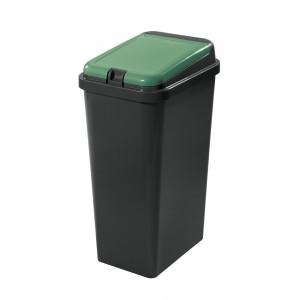 Πλαστικός κάδος ανακύκλωσης Tontarelli Bido 45lt Πράσινο
