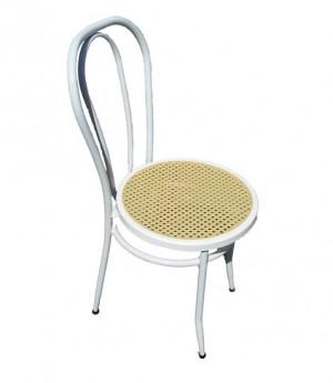 Μεταλλική καρέκλα Βιέννης Λευκή