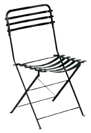 Μεταλλική καρέκλα Ζαππείου