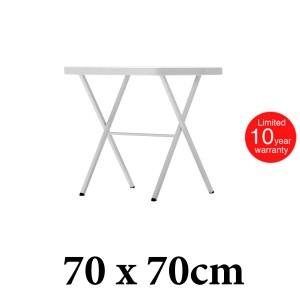 Πτυσσόμενο τραπέζι Zown Bistrot70 white 70x70cm