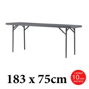 Πτυσσόμενο τραπέζι μακρόστενο Zown XL180