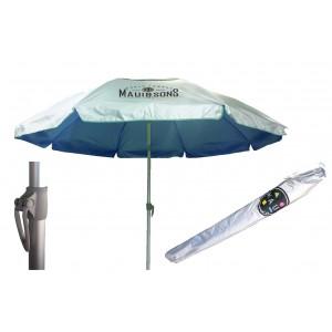 Ομπρέλα παραλίας με σκελετό αλουμινίου Maui and Sons Navy Blue - Ø2,2m
